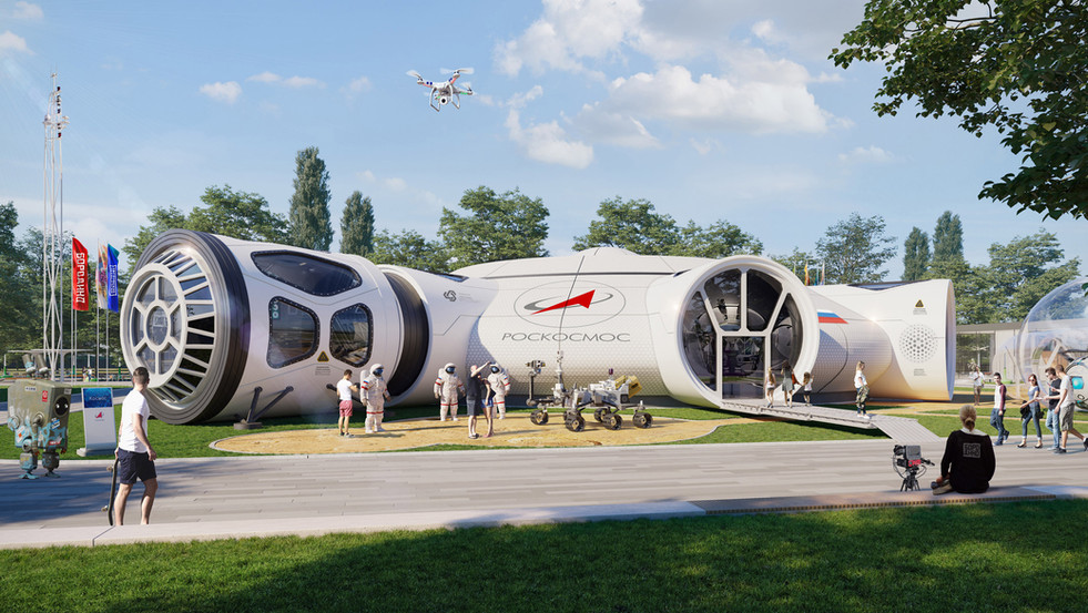 Kindercampus Borodino - Space Center