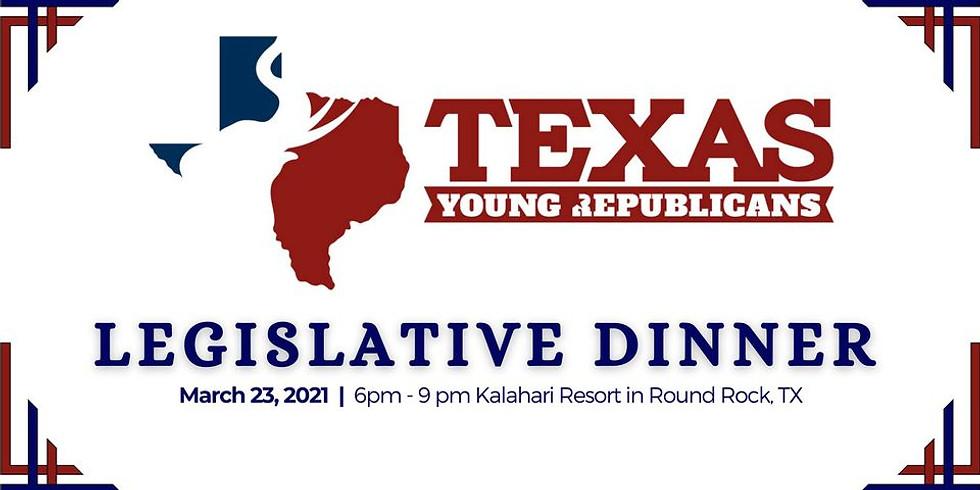 Texas Young Republicans Legislative Dinner 2021