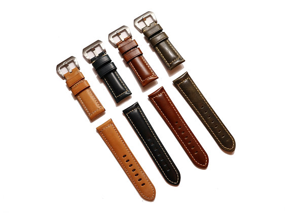 Oiled Vintage Leather Strap
