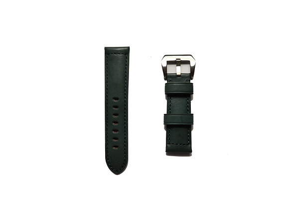 Vintage Padded Leather Watch Strap