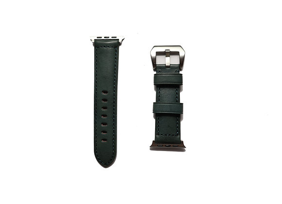 Apple Watch Vintage Padded  Leather Watch Strap