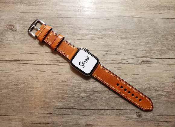 Apple Watch Oiled Thick Vintage Leather Watch Strap