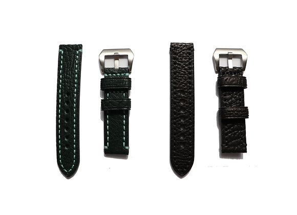Shrink Leather Watch Strap
