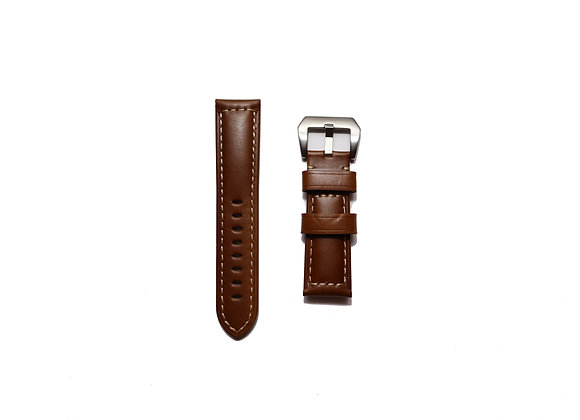 Oiled Vintage Leather Strap in Brownie