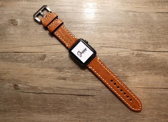 Apple Watch Textured Leather Watch Strap