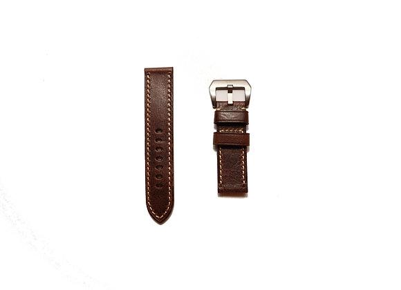 Premium Oiled Textured Handmade Genuine Leather Watch Strap