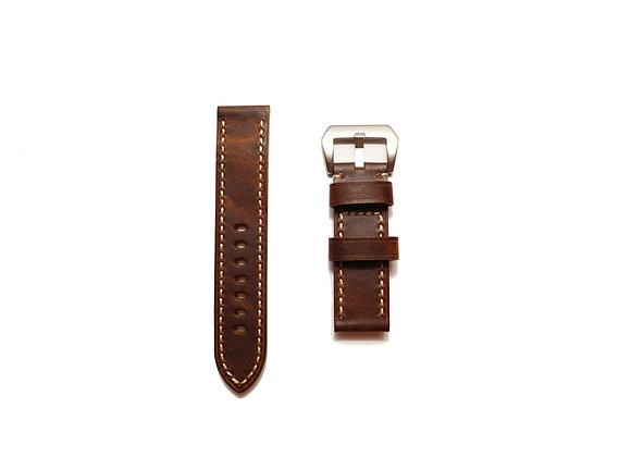 Premium Textured Handmade Genuine Leather Watch Strap