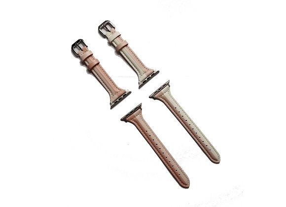 Apple Watch Slim Match Style Leather Watch Strap
