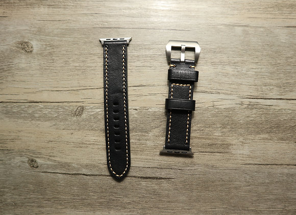 Apple Watch Premium Genuine Leather Extra Long Watch Strap