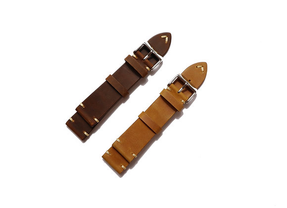 Vintage Traditional Premium Leather Watch Strap