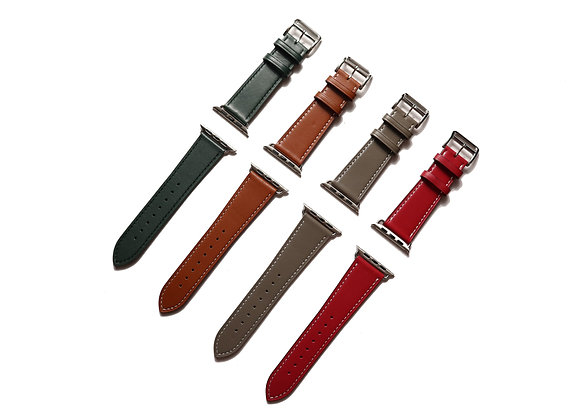Apple Watch Girth Buckle Leather Strap