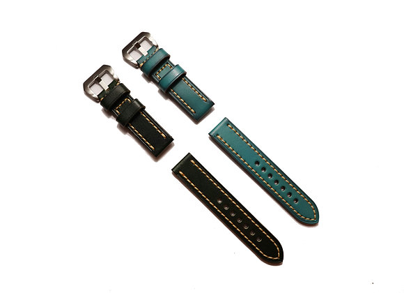 Genuine Brush Off Leather Watch Strap