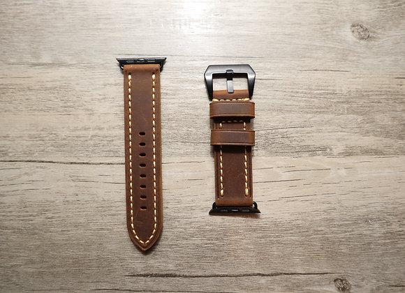 Apple Watch Classic Grain Leather Strap