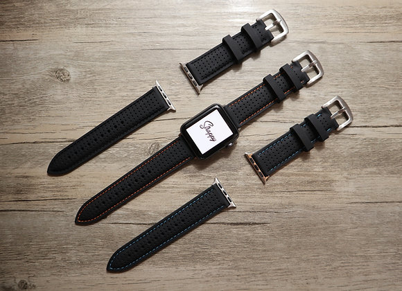 Apple Watch Vintage Rubber Watch Strap