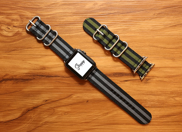 Apple Watch ZULU Striped Strap