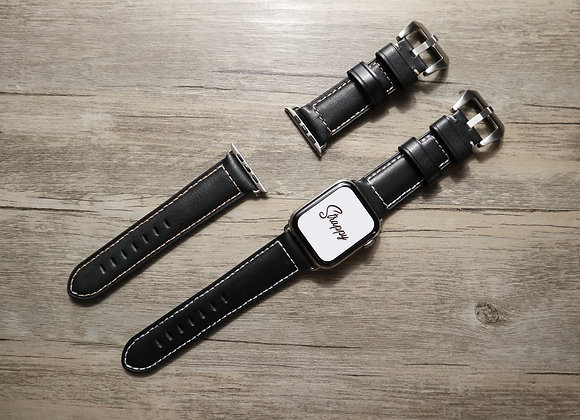 Apple Watch Vintage Highley Genuine Leather Watch Strap