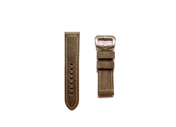 Vintage Leather Strap in Grey