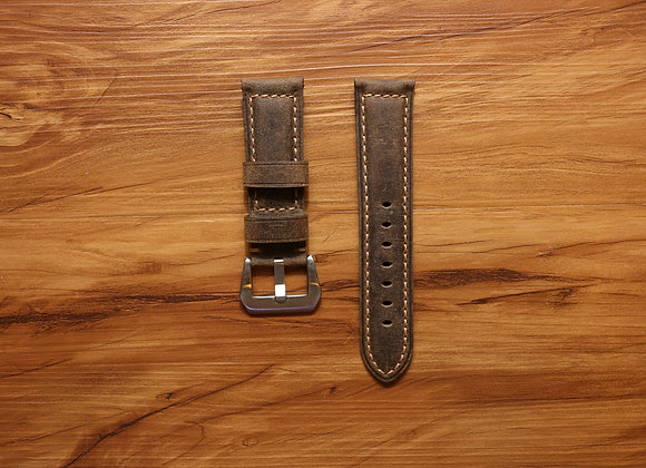 Vintage Leather Strap in Brown