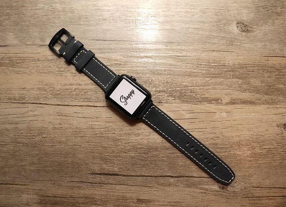 Apple Watch Simple Stitching Leather Strap