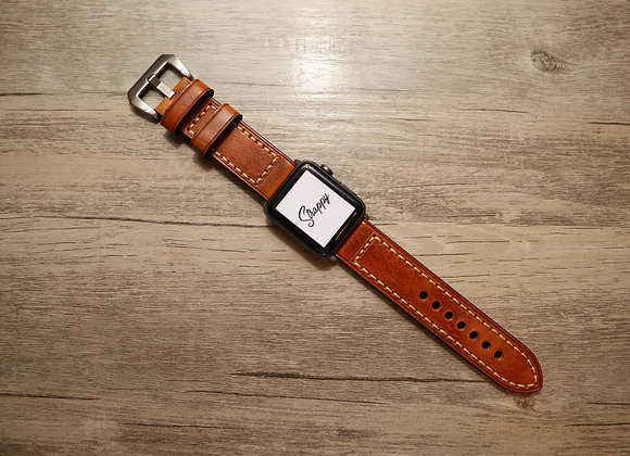 Apple Watch Vintage Leather Watch Strap