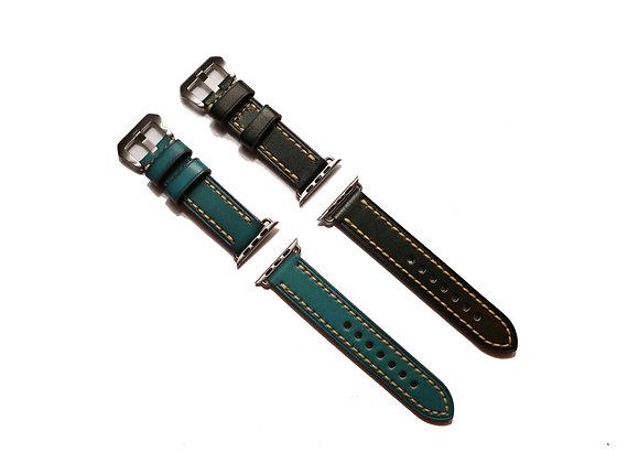 Apple Watch Genuine Brush Off Leather Watch Strap