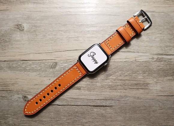 Apple Watch Leather Chunky Strap