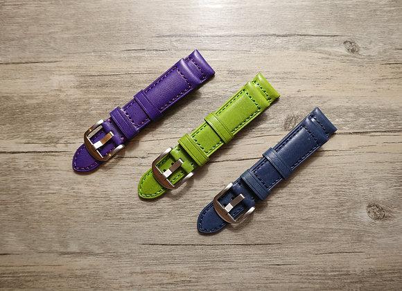 Grain Genuine Leather Watch Strap