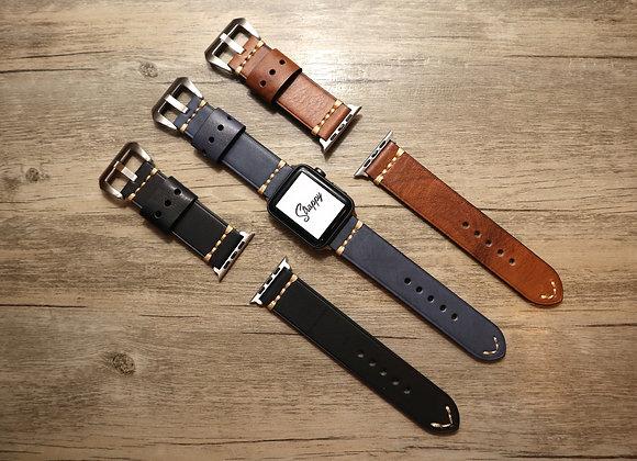 Apple Watch Simple Handmade Leather Strap