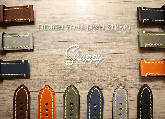 Handmade Italian Leather Watch Strap