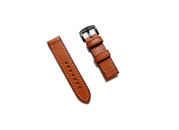 Chunky Leather Watch Strap