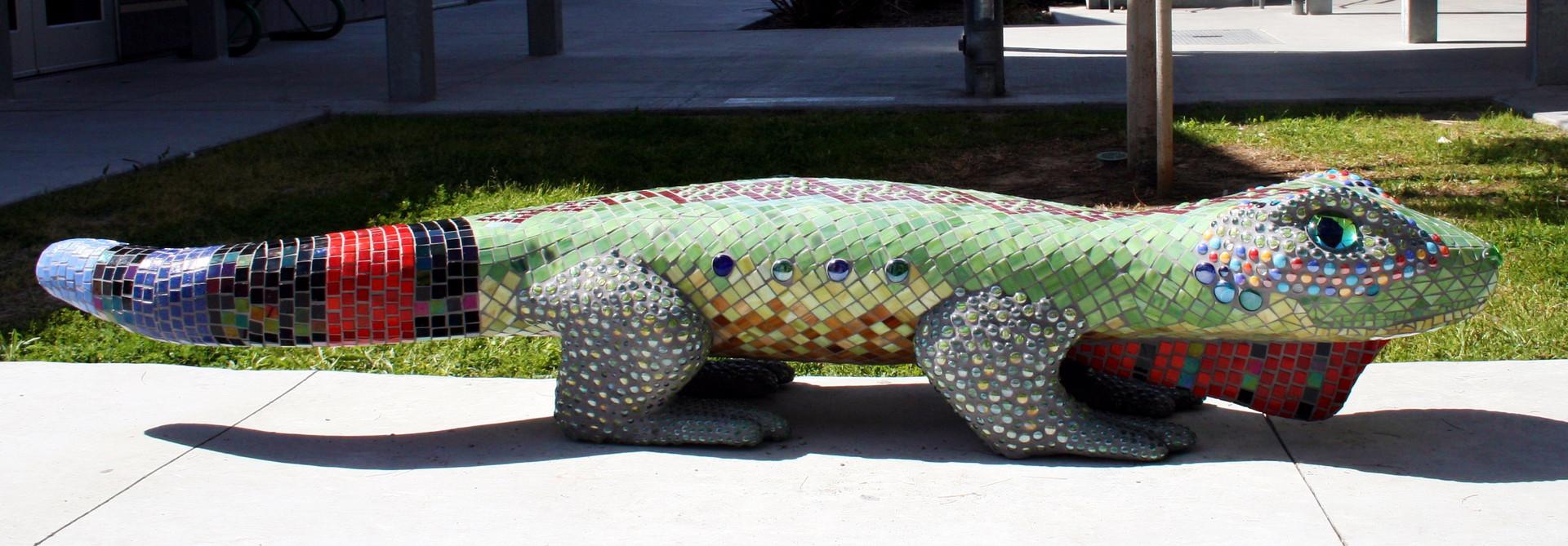 Iggy the Iguana Bench