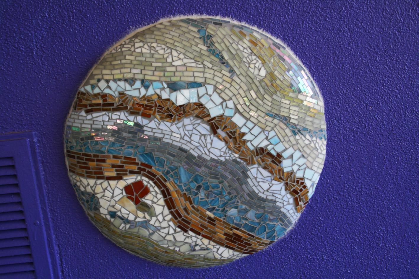 Mosaic Jupiter at Hedrick Elementary School