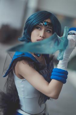 Pretty Sailor Guardians Dark Mercury