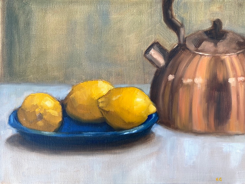 Three Lemons and a Copper Kettle