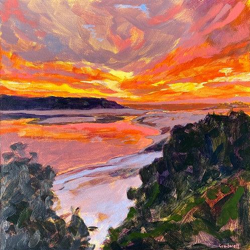 Lake Conjola Sunset