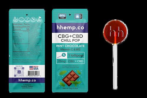HHemp.co CBG + CBD Lollipop