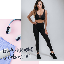 Body Weight Workout One