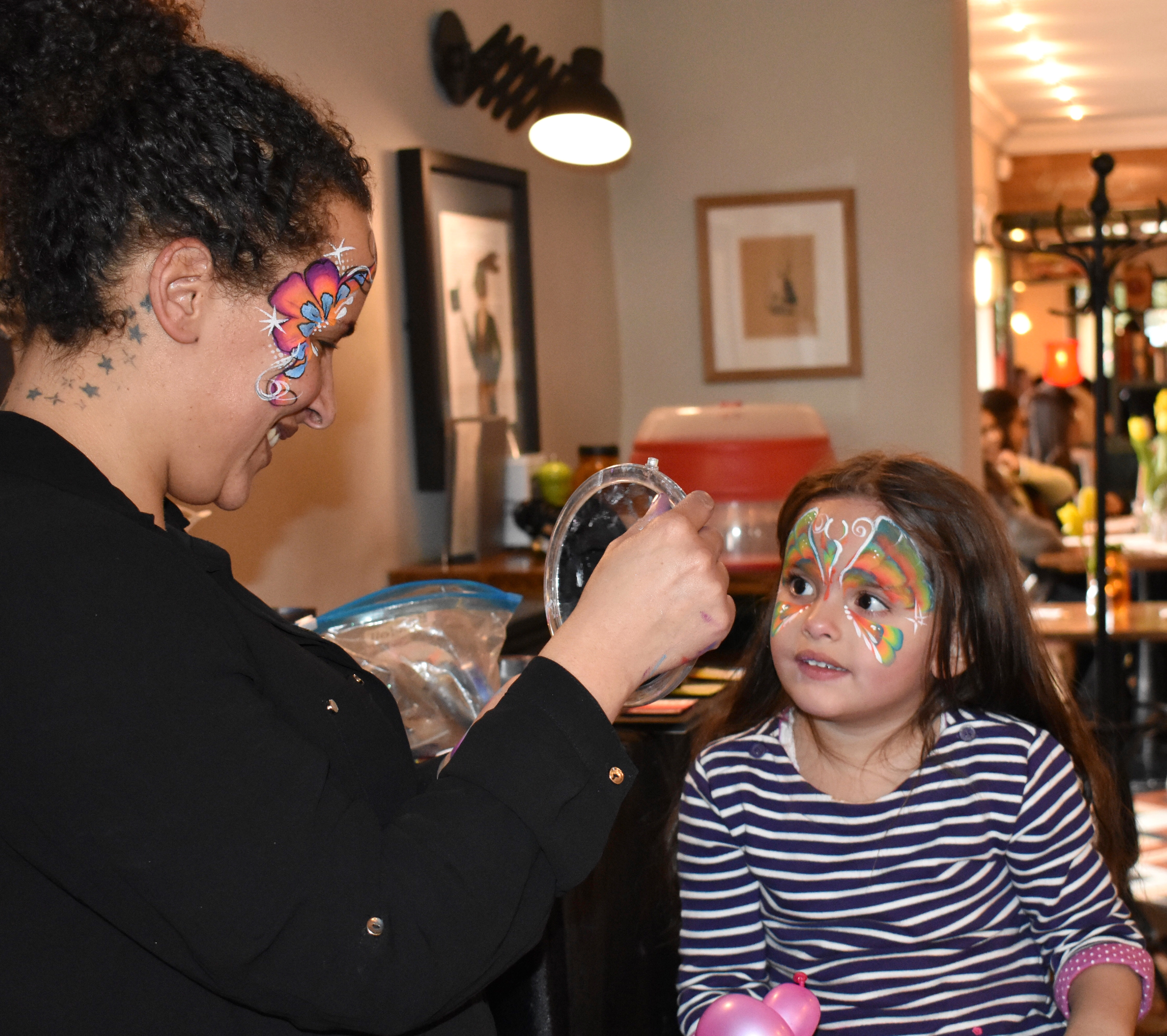 Easter Sunday Face Painting -6