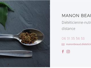 Recommandation diététicienne : Manon Beaud