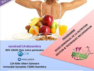 Conférence nutrition, sport et santé