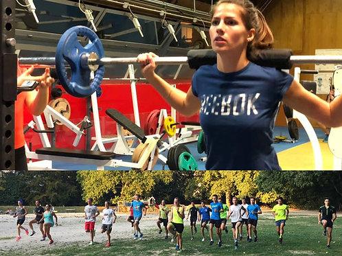 Plan  DUO Running & préparation physique  (par mois)