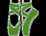 Green Ballet Shoes - Transparent Backgro