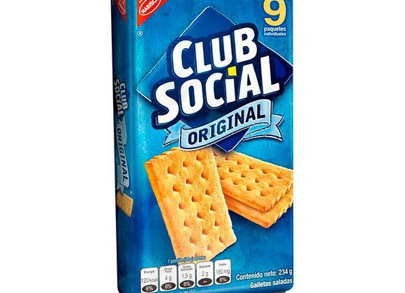 CLUB SOCIAL Original (paquete x 9)