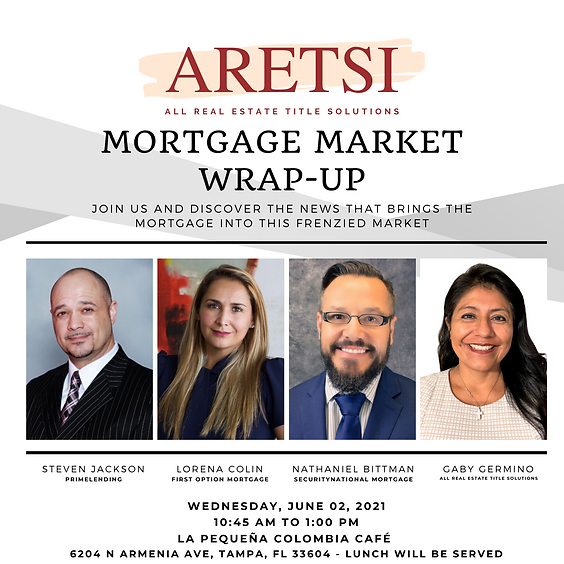 Mortgage Market Wrap-Up