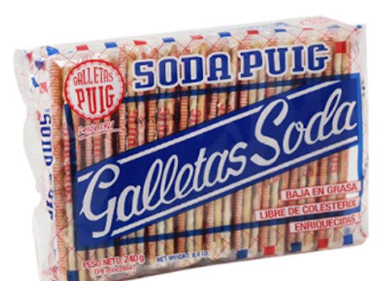 Galletas de SODA PUIG