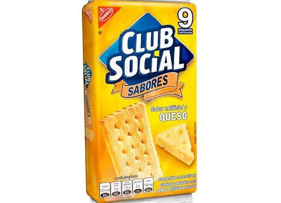 CLUB SOCIAL Queso (Paquete x 9)