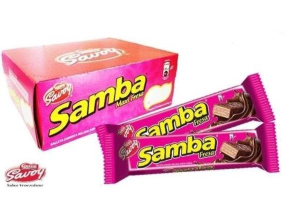 SAMBA Fresa Caja (18 unidades)