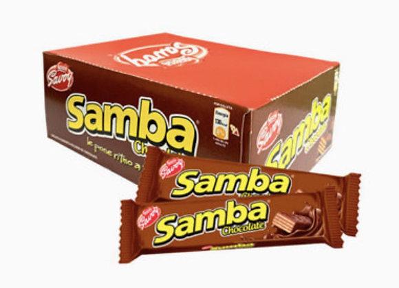 SAMBA Chocolate Caja (18 Unidades)