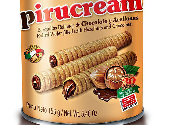 Pirucream Chocolate y Avellanas 150gr