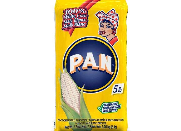 HARINA PAN  Blanca (5Lb)